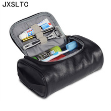 2017 Fashion Leather Waterproof Women Cosmetic Bag Travel Necessarie Organizer High Capacity Beautician Professional Makeup Bag