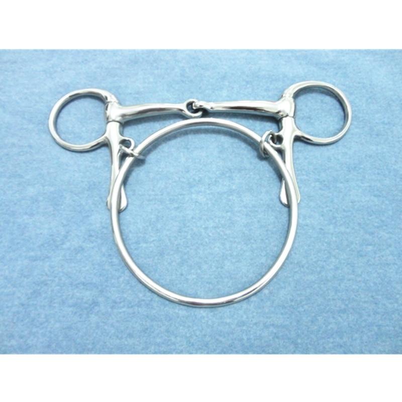 Stainless Steel Dexter Ring  Bit  Horse Equipment    (H0987)