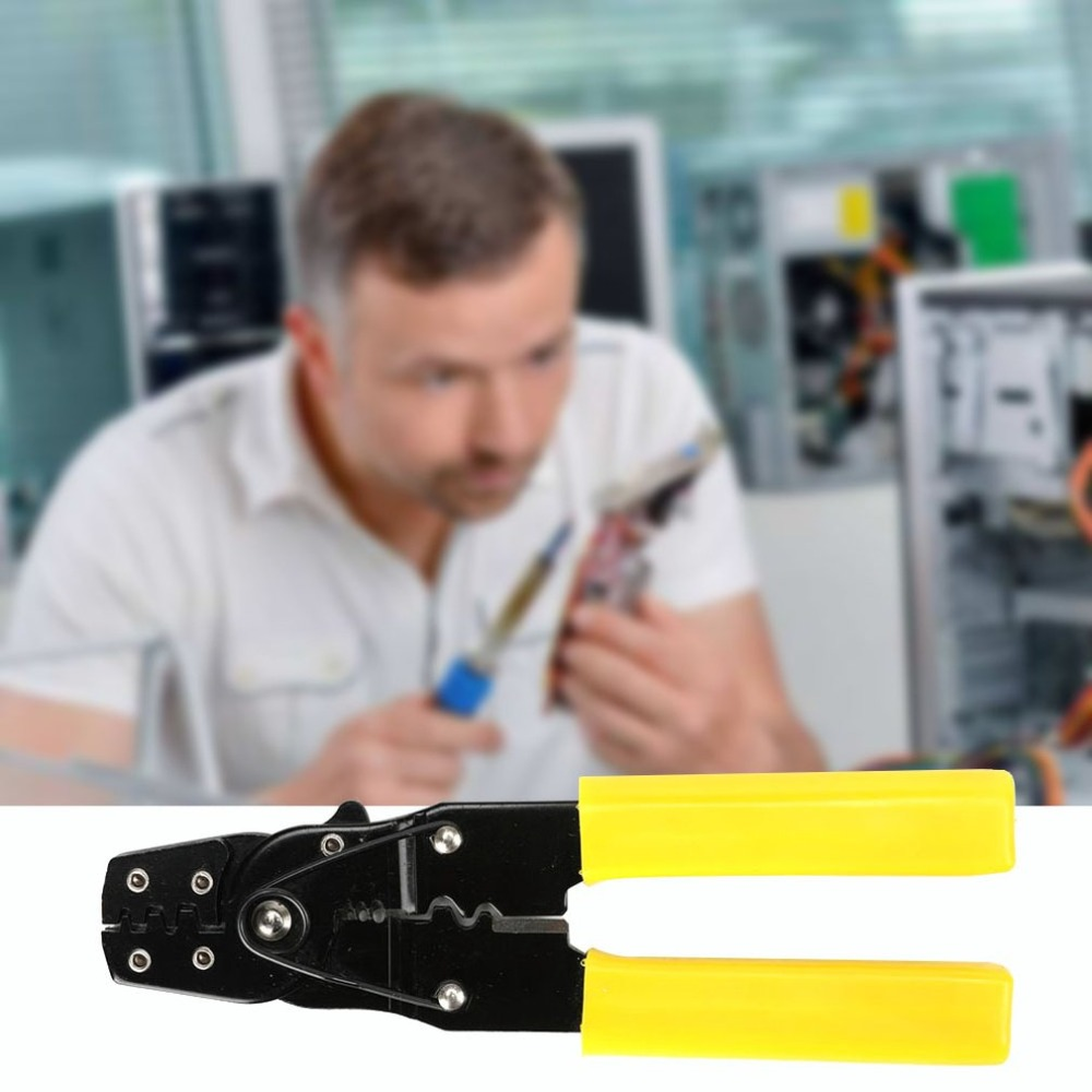 2 In 1 Multi-functional Automatic Cable Wire Stripper Crimper Crimping Cutting Plier Stripping Terminal Hand Tool