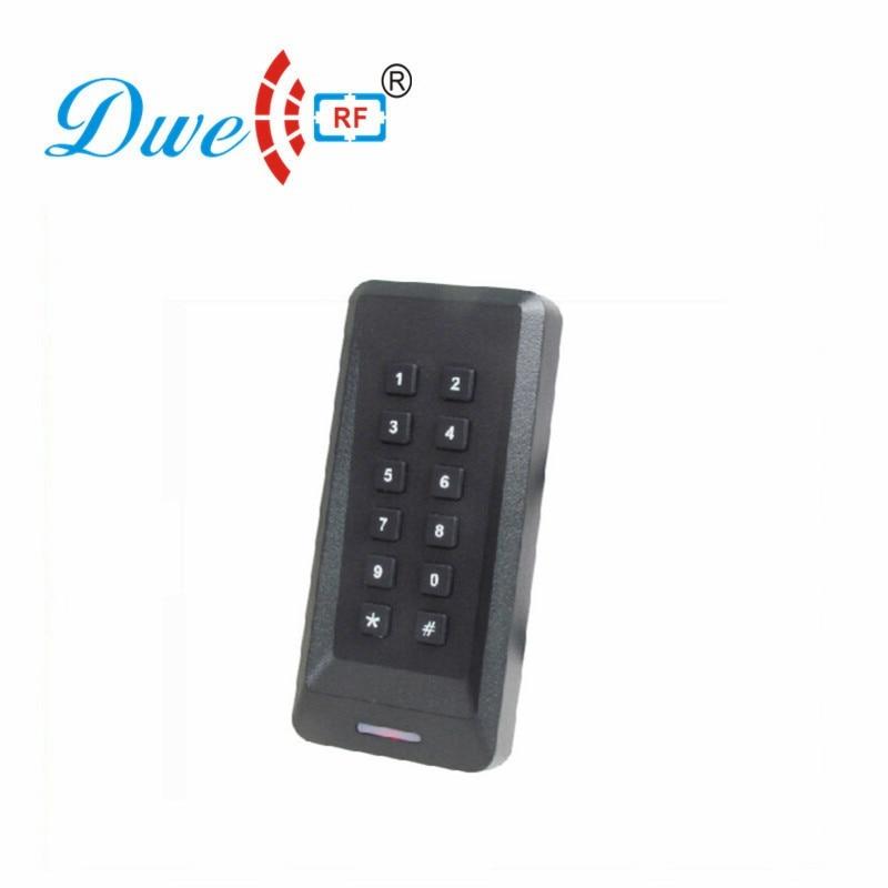 DWE CC RF Access Control System Proximity RFID Smart Card Reader 13.56mhz Waterproof Wiegand 34  EM4100 D802A-M wiegand 26 access control with keypad em rfid card smart card reader standalone ccess control system ip65 waterproof m07 k ki