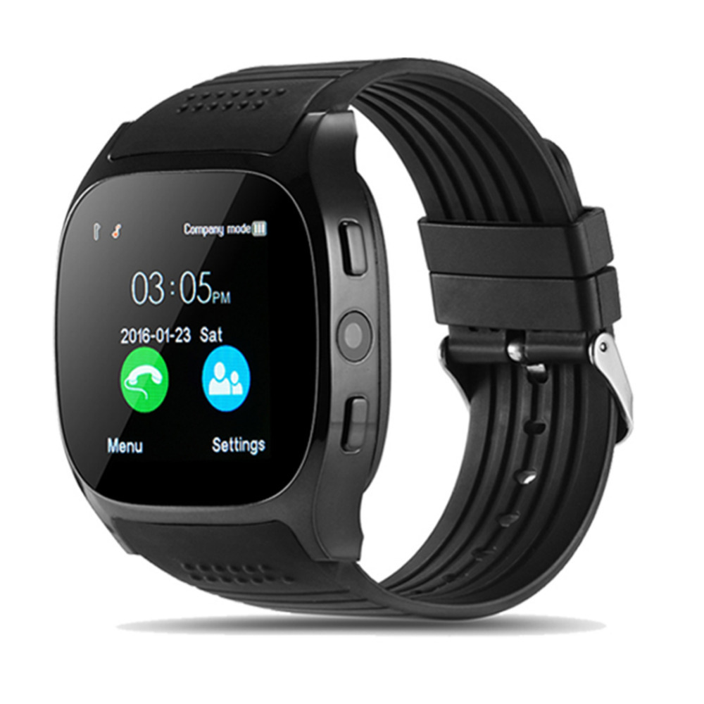 2018 New Bluetooth Smart Watch Sports Watch Support SIM TF Card LBS Location FM Radio With
