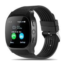 0b0831f1a6e1 2018 nuevo reloj inteligente Bluetooth reloj deportivo soporte tarjeta SIM  TF LBS ubicación Radio FM con