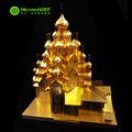 Microworld Metal 3D Rompecabezas Modelo de Construcción de Rusia La Iglesia de la Transfiguración J028 BRICOLAJE Corte Láser 3D Jigsaw Juguetes