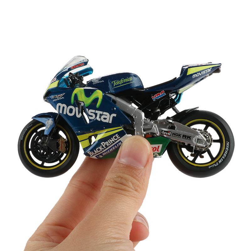 Motorcycle Model Toy Alloy Plastic Off-Road Vehicle Simulation Racing Sport Motorbike Models Cars Toys For Children Christmas