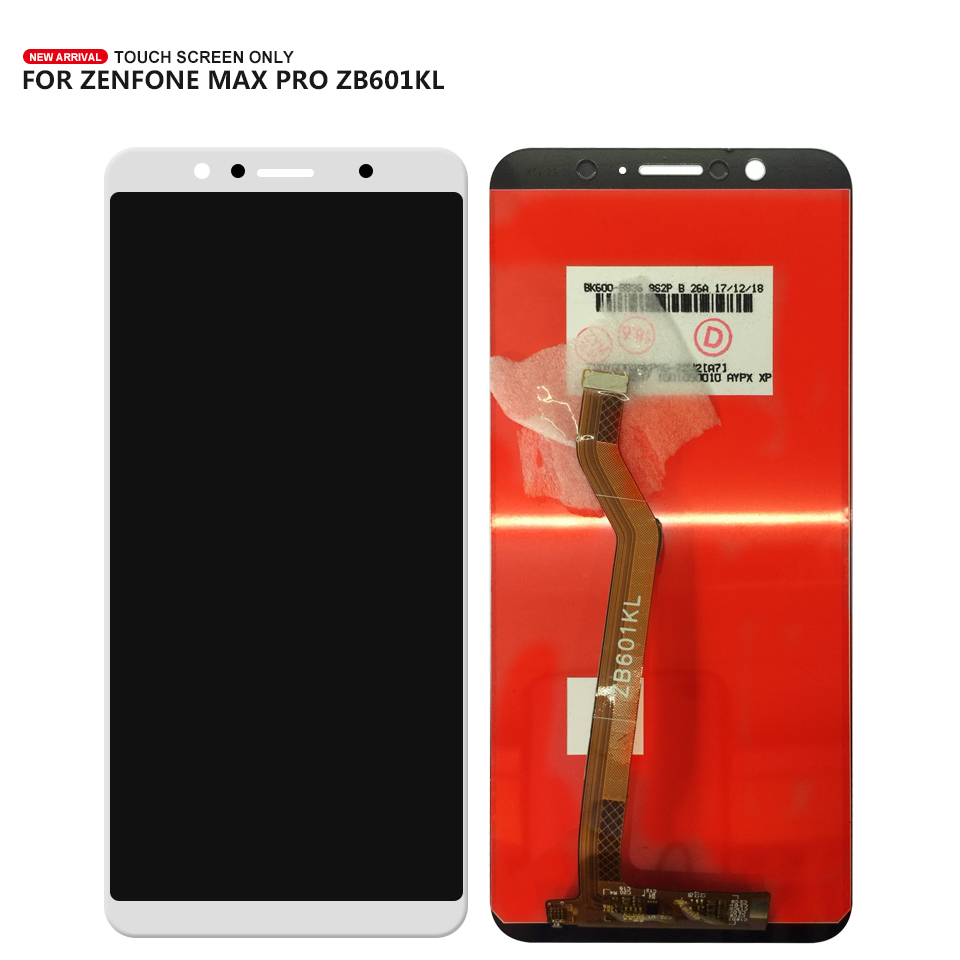 For ASUS ZenFone Max Pro (M1) ZB601KL <font><b>ZB602KL</b></font> <font><b>LCD</b></font> Display Touch Screen Digitizer Assembly Free shipping + Tools image