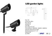 3W LED Outdoor Garden Decoration LED Garden Spot Light Path Spike Lawn Lamp AC DC 12V 24V Landscape Light Inground LED 3pcs/lot