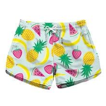 b45fe72783 Summer ladies board shorts swimwear woman swimsuits quick dry beach swim  shorts sports running joggers fitness pattern in