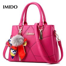 IMIDO Womens Handbags Solid  High Quality Ladies Party Wallet Casual Messenger Bag Shoulder