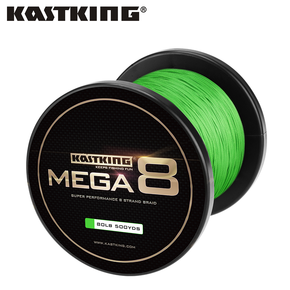 Kastking Brand Braided Fishing Line 274m/457m 8 Strand Super Power Line 10-80LB Carp Sea PE Multifilament Fishing Line