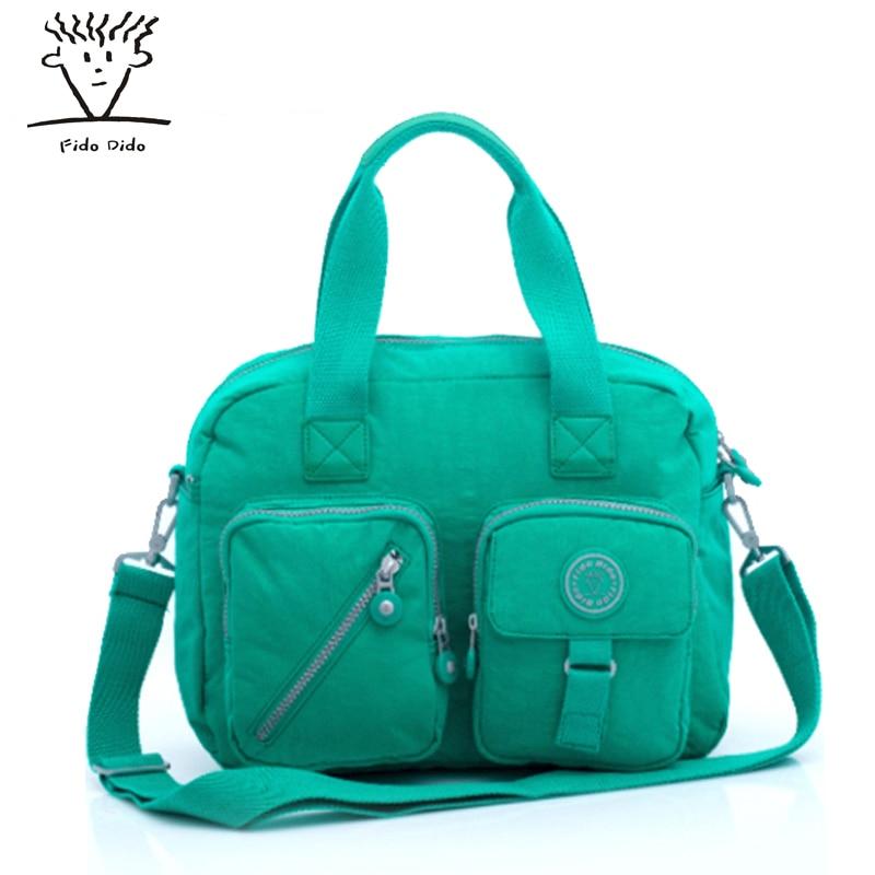 Fido Dido Fashion Women Waterproof Nylon Bags Messenger Bags Shoulder Bags Female Crossbody Bags For Women Casual Tote !! fido