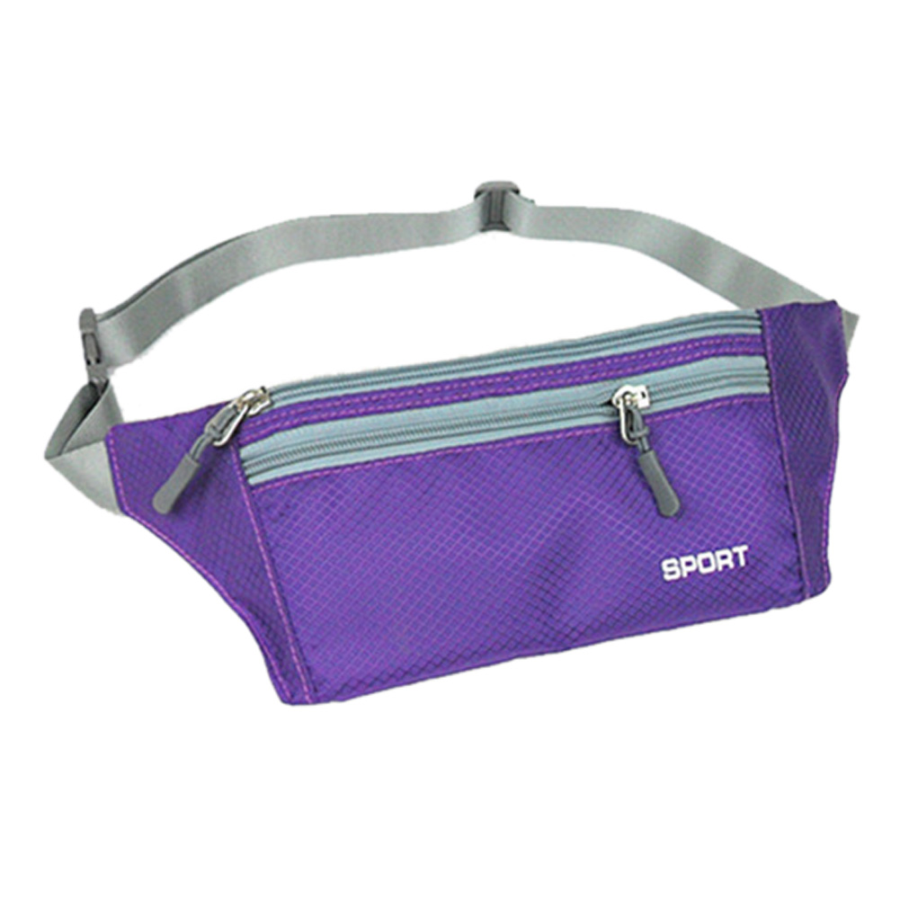 Boutique Young Fashion Unisex Bum Bag Practical Small Travel Fanny Pack Waist Belt Zip Money Phone Pouch 10 Colors Available