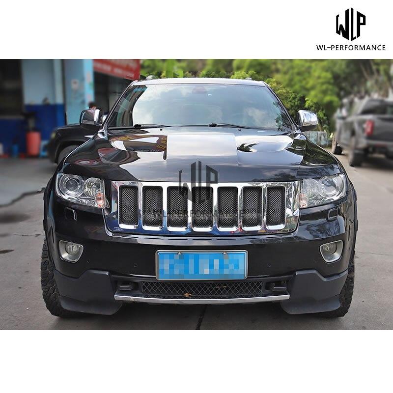Renegade Spoiler Jeep Grand Cherokee WK2 SRT Laredo Limited 2014-2017 Fiberglass Unpainted