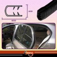 19mmx15mm Black Edge Seal RV Lock Trim Rubber Weatherstrip Car Pillar Trailer Window Door Soundproof 394 1000cm Easy Install