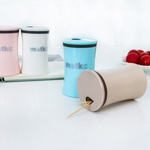 European-style fashion creative high-grade toothpick box  caster toothpicks extinguishers holder 7.8*5cm