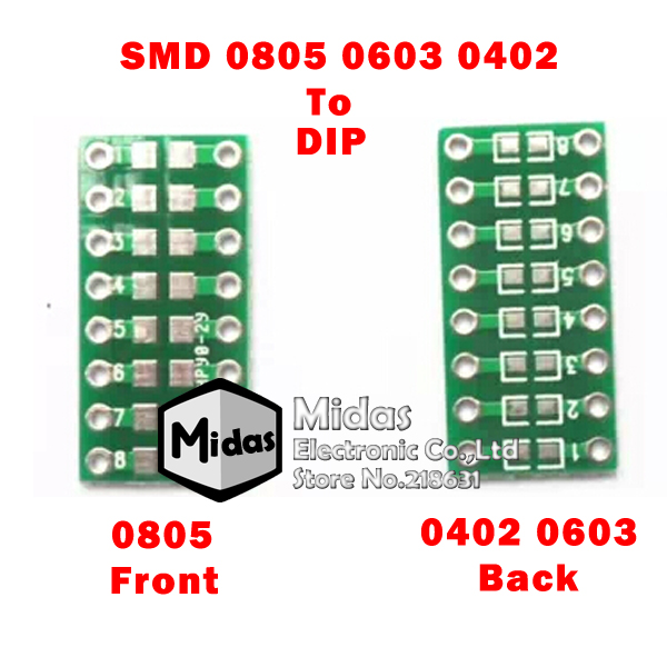 [Midas] Free Shipping 10 PCS/LOT SMD Capacitor Resistor