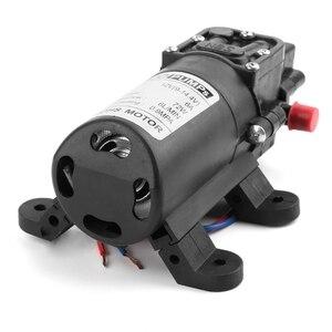 Image 4 - 12V 72W wysokiego ciśnienia mikro membranowa pompa wodna przełącznik automatyczny zarzucanie treści żołądkowej do przełyku/inteligentny typ