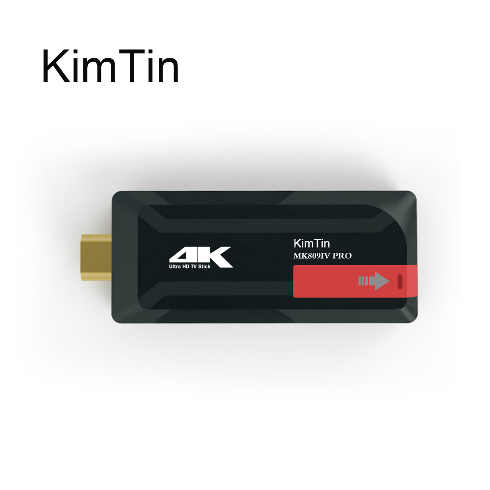 KimTin MK809IV Pro Quad Core Android 7.1 TV Box RK3229 Penta-nüvəli GPU 2GB / 8G 4K H.265 3D 2.4G Wifi Bluetooth4.0 Google Mini PC