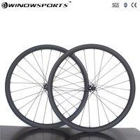 27.5er Carbon MTB Wheels XC 30mm tubeless mountain bike 15*100 12*142 24H 28H Carbon Mountain Bike Wheelset