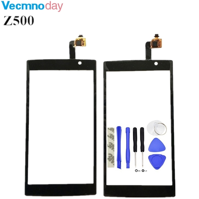 Vecmnoday Black Front Panel For Acer Liquid Z500 Touch Screen Digitizer Glass Replacement For Acer Z500 Touch Panel Touchscreen