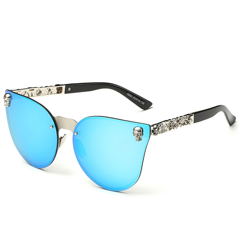 Fashion Luxury Sunglasses Women Brand Designer Skull Sun Glasses For Ladies Retro UV400 Anti-Reflective Female Oculos RS082 2