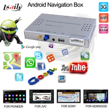 car navigation box interface for pioneer Car DVD Play Android 4.4.2 Navigation Box