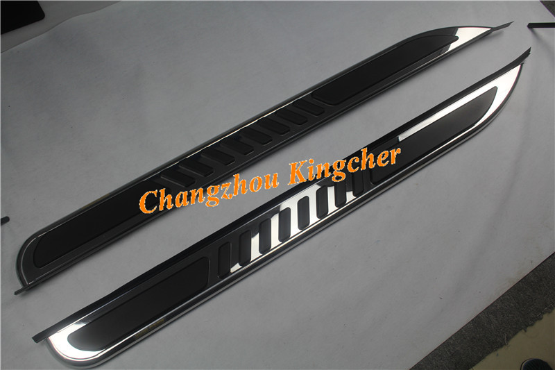 High Quality Stainless Steel Mirror Running Board Side