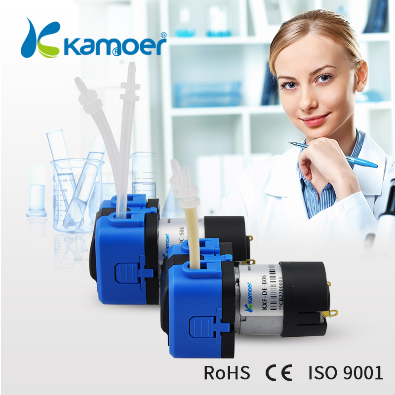 Kamoer KXF mini Peristaltic Pump 6V/12V/24V DC Water Pump micro electric dosing pump kamoer kcp pro lab chemical dosing pump peristaltic pump micro water pump 24v electric pump with flow rate adjustable
