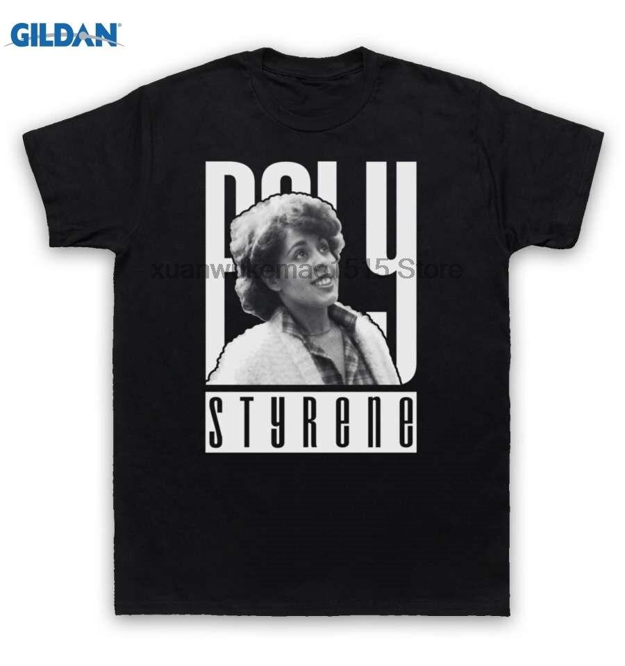 GILDAN 100% Cotton O-neck printed T-shirt X-Ray Spex T Shirt Poly Styrene ...