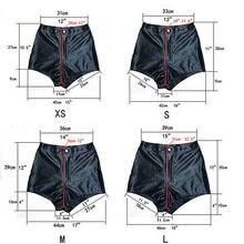 High Waist Satin Shorts Pants RK
