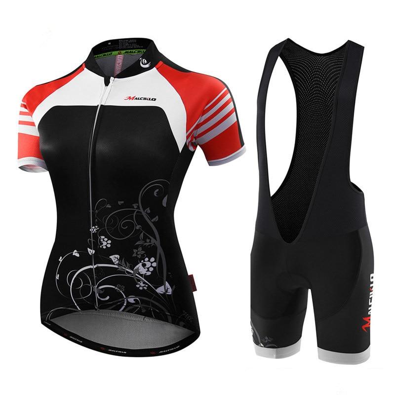 Malciklo Women Cycling Jersey Maillot Cycling Sets 2019 Ropa Ciclismo Mujer Bike Wear Clothing Bicycle Summer