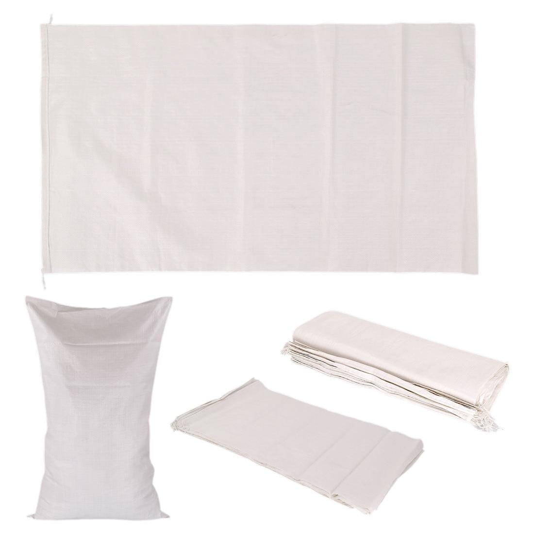 Hot 25 x Extra Large Woven Polypropylene Sacks Strong Rubble Bags Size 60x100cm Amount:25 PCS