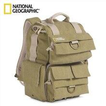 National Geographic Small Backpack Environmental Carry Bag Wearable Camera/Video Bag For Canon Nikon SLR Benro Sirui Mini Tripod