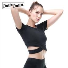 e27a4f40 Gym Tshirt Sportswear Women's Workout Tops For Women Jersey Sport Crop Top  Yoga Fitness Clothing T