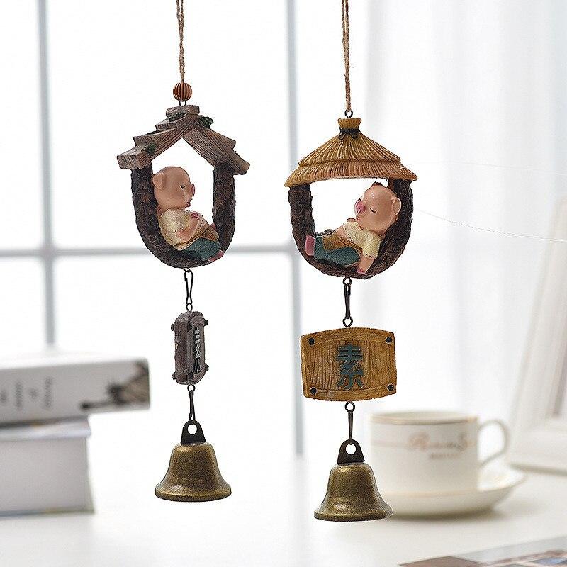 Home-Decoration-Accessories Creative Christmas-8inches Cartoon Modern Resin Z435 Zakka