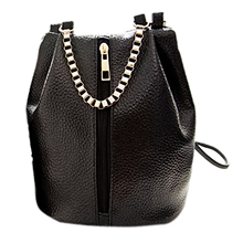 New Vintage Ladies Shoulder Handbag Women Handbag girl bags Messenger Bag (black)