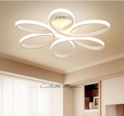 Surface mounted moderna plafoniere a led per soggiorno for Interni casa moderna