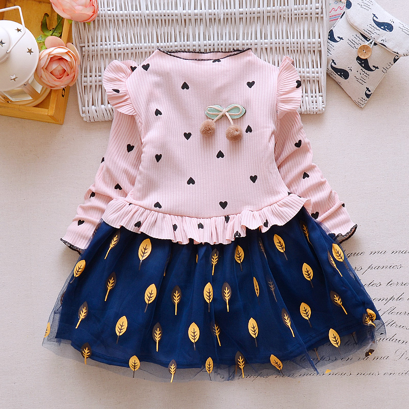 Bibicola New Sizzling Sale Kids Ladies Print Costume Autumn Winter Children Heat Costume Child Ladies Vogue Thicken Clothes Match 2-7 Y