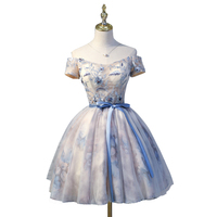 lolita dress alice cosplay bow collar short vintage ball gown medieval dress Renaissance gown queen Victorian dress /Belle Ball