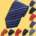 De punto A Rayas Corbata A Cuadros Hombre 8 cm Gravata Corbata Delgada Clásica visita de La Boda Corbata Para Los Hombres 2017 Nuevos Hombres Corbatas de Moda