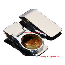 New arrival sublimation blank metal money clips hot transfer printing money clips consumables 10pieces/lot