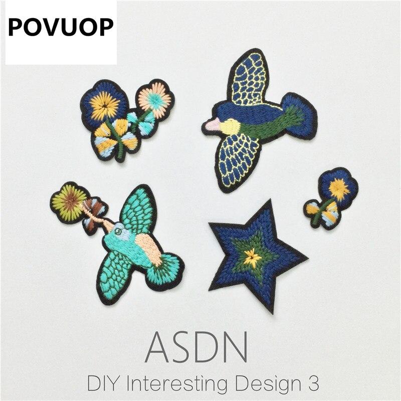 ᑎ‰Povuop tela parche 2016 creativo diseño Ropa Accesorios de tela ...