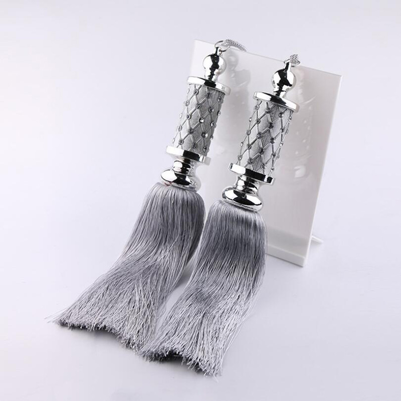 Upscale European-style Curtain Tassels Fashion Straps Interior Home Curtains Pendant