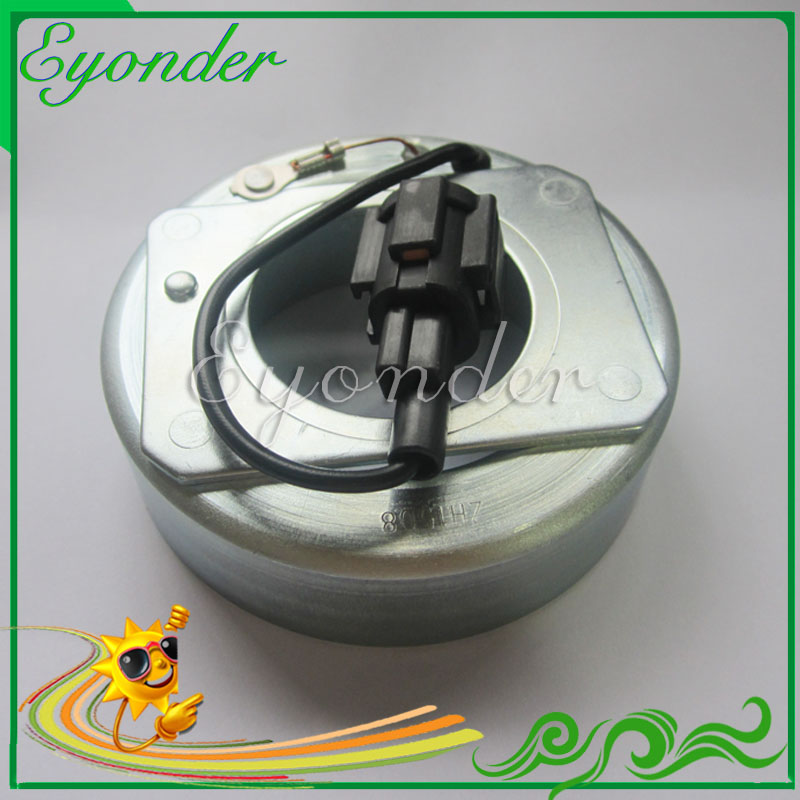 Air Conditioning AC A/C Compressor Pump Magnetic Electromagnetic Clutch Coil for Calsonic Nissan Latio Tiida 83*53.5*40*23mmAir Conditioning AC A/C Compressor Pump Magnetic Electromagnetic Clutch Coil for Calsonic Nissan Latio Tiida 83*53.5*40*23mm