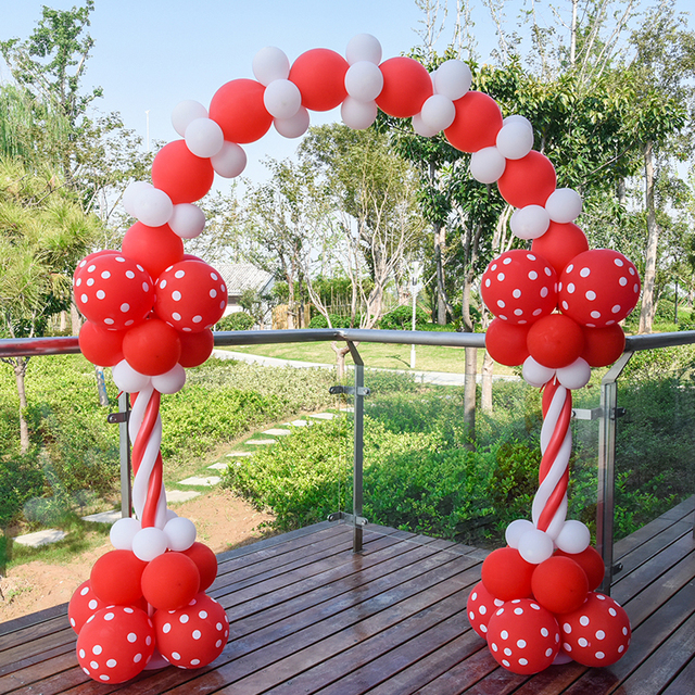 Balloon Arch May Day Celebration Mall Event Arrangement Window Decoration Opening Birthday Party Wedding Door