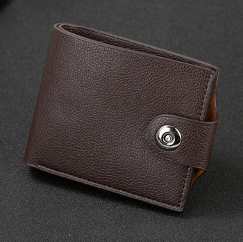 PU Leather Male Wallets Purse Gift High Quality 2