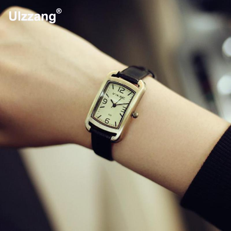 New Fashion Hot Sale Genuine Leather Female Watch Vintage Watch Women Ladies Dress Watches 3cm Small Dial memunia new arrive hot sale genuine