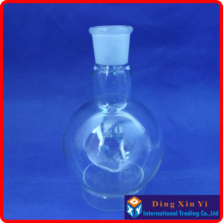 250ml 24/29 Single Neck Round-bottom Flask,Boiling Flask Round Bottom,short Neck Standard Ground Mouth