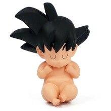 NEW hot 5cm Dragon ball Kakarotto Son Goku baby childhood action figure toys collection doll Christmas gift no box