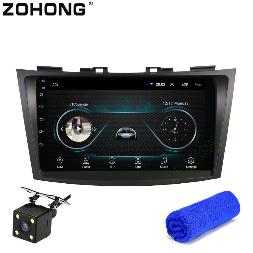 2 5D 9inch Android 8 1 For Car DVD Player Suzuki Swift 2011 2012 2013 2014