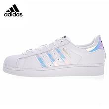f41d18c711 Adidas SuperStar Gli Uomini e Le Donne Scarpe da pattini e skate, Bianco,  Piatto Wearable Leggero E Traspirante